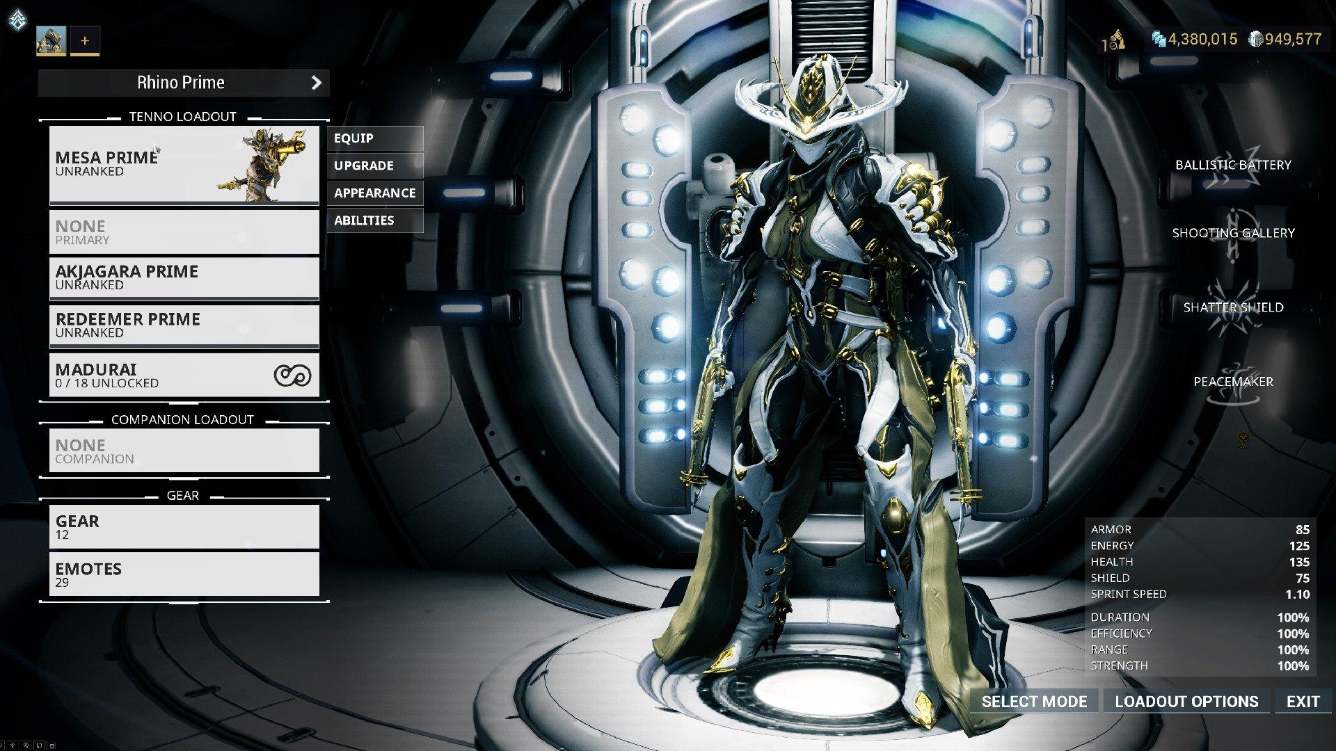 Warframe - Mesa Prime Access: Shooting Gallery Bundle DLC