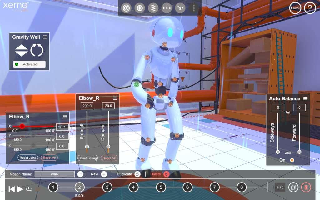 Xemo: Robot Simulation Steam CD Key | Buy on Kinguin