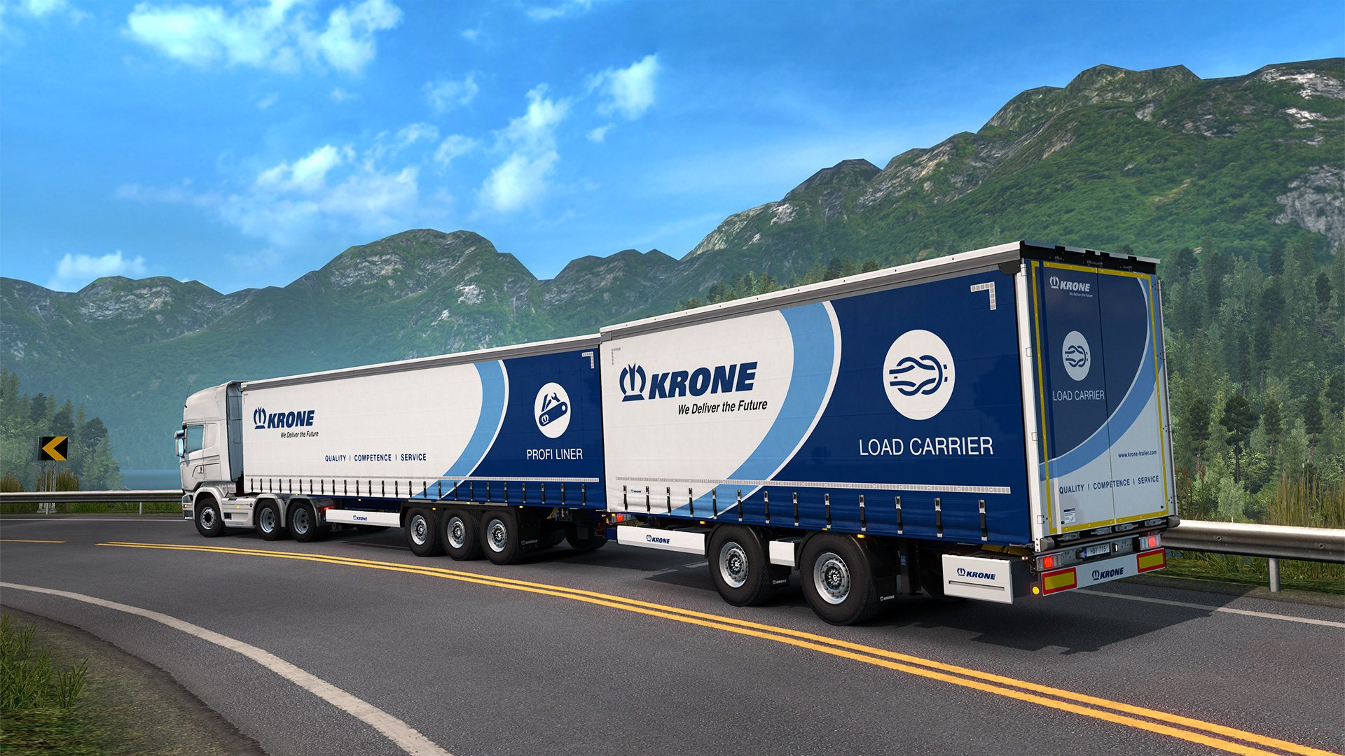 Euro Truck Simulator 2 - Krone Trailer Pack DLC Steam CD Key