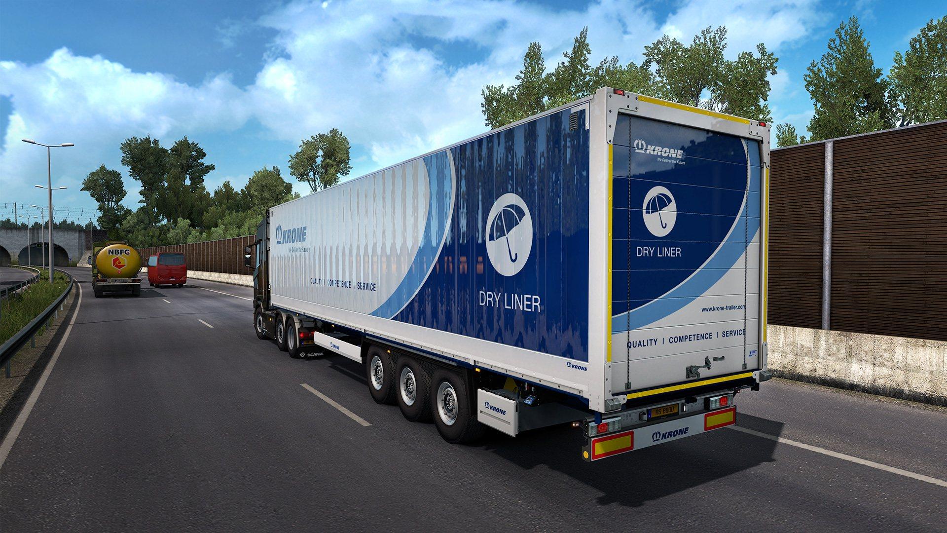 Euro Truck Simulator 2 - Krone Trailer Pack DLC Steam CD Key