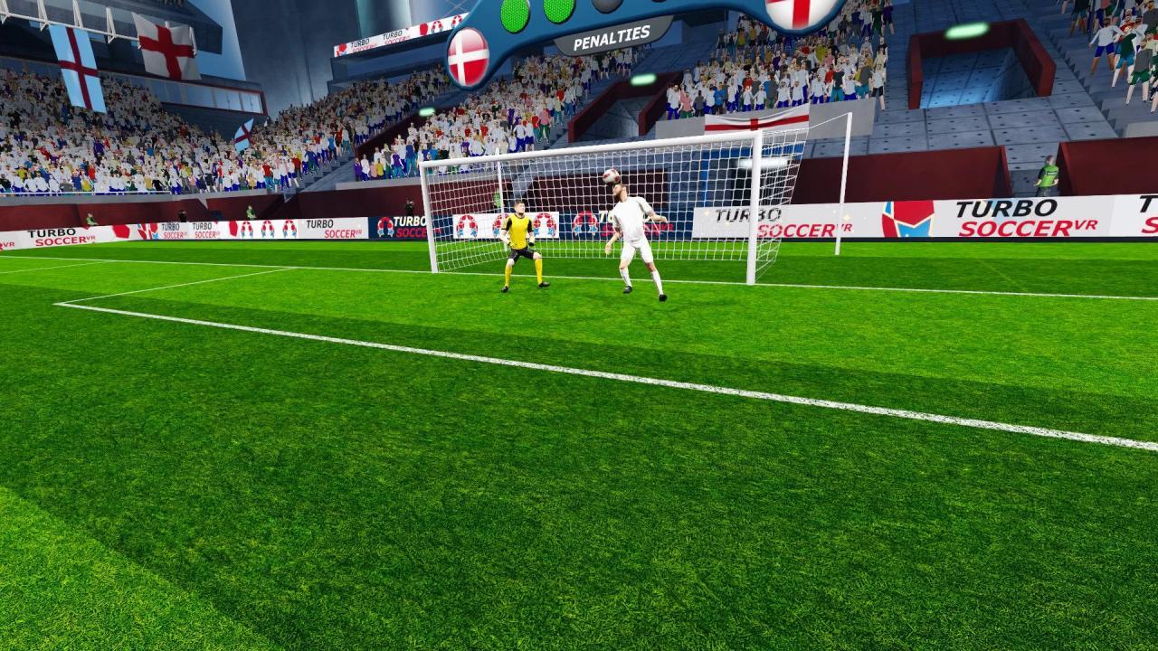 Turbo Soccer VR Game