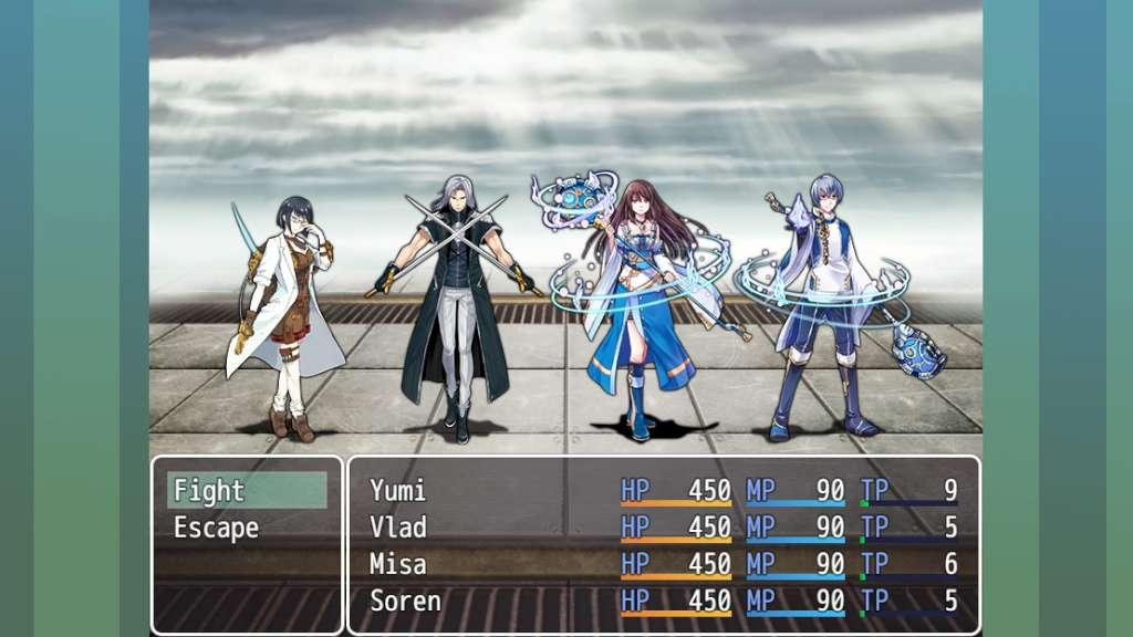 RPG Maker MV - Frontier Works: Futuristic Heroes and BGM DLC Steam Gift