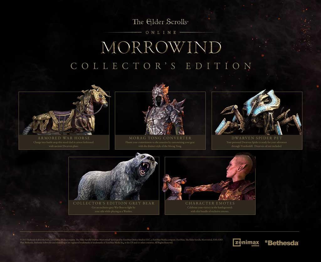 The Elder Scrolls Online: Morrowind Digital Collector's