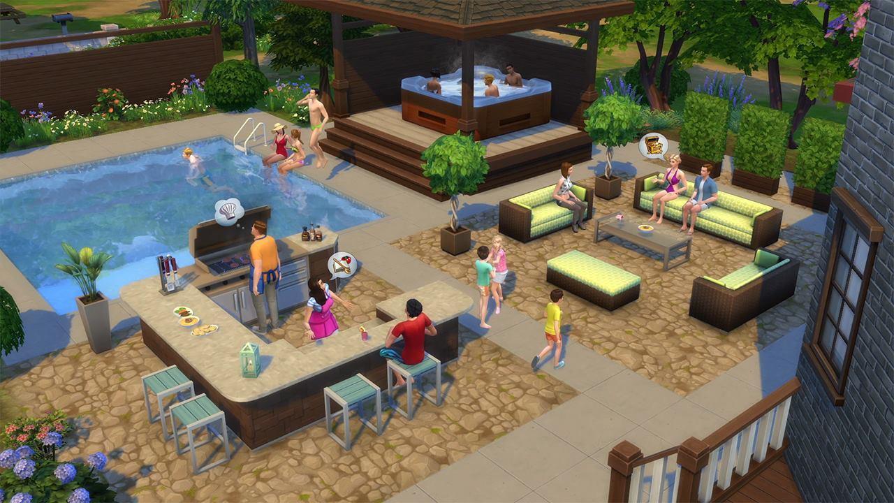 Sedia A Sdraio The Sims.The Sims 4 Luxury Party Perfect Patio Stuff Origin Cd Key