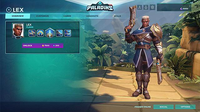 Paladins - Lex + Lawbringer Skin PC/Xbox One/PS4 CD Key