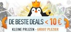 De beste deals onder 10 euro!