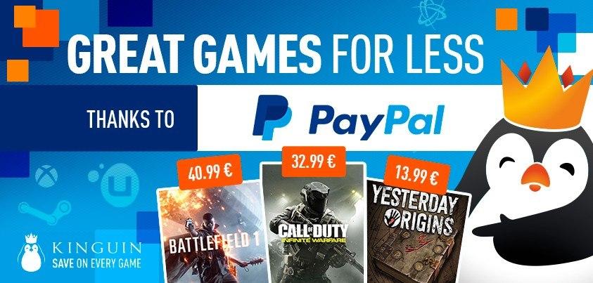 Tolle Preise mit PayPal!