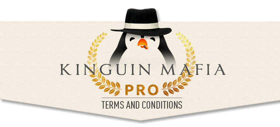 Kinguin Mafia PRO Affiliate Program Terms & Conditions