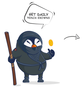 Get daily Ninja Krowns