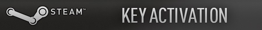 Key steam activation